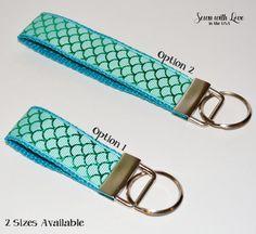 Mermaid Tail Key Chain   2 Sizes    Key Fob   Gift Idea   Teacher Gift   Gifts…