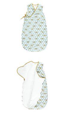 Sleeping bag blue piano - saco de dormir piano azul - baby - bebe - Nobodinoz