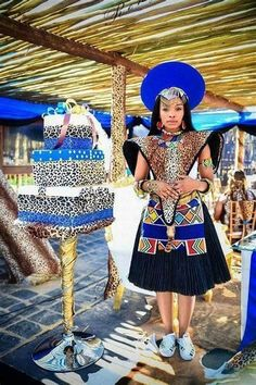 Ndlovukazi, mhlekazi, mama we sizwe. Zulu Traditional Wedding Dresses, Zulu Traditional Attire, South African Traditional Dresses, Traditional Outfits, Latest African Fashion Dresses, African Print Dresses, African Print Fashion, African Dress, African Wedding Attire