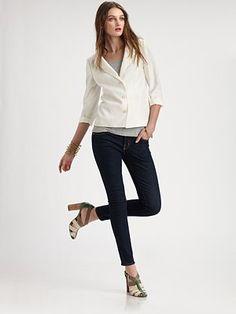 Fashion Star 3-Button Jacket by Kara Laricks ($350.00) #FashionStar