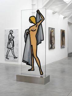 Ryan Gander and Julian Opie exhibition at Lisson Gallery, London Lisson Gallery, Art Gallery, Magazine Art, Magazine Design, Wallpaper Magazine, Ryan Gander, Contemporary Art, Modern Art, Art Postal