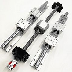 cnc set Linear rails SBR16-400/700/1000MM+BallScrew  SFU1605/sfu1610- L400/700/1000mm +bk12 bf12+ballnut housing+shaft coupling //Price: $0.00//     #electonics