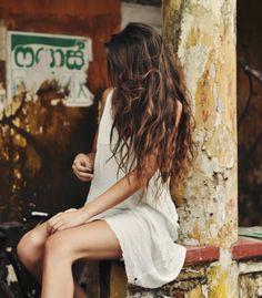 messy hair love