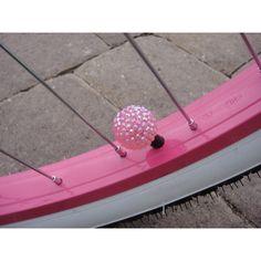 Bike bling- pink!