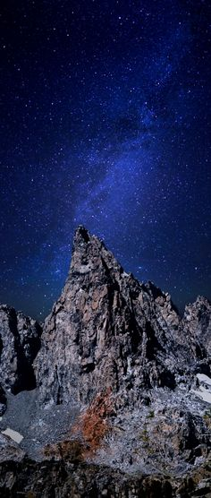 Clyde Minaret by Moonlight - Minaret Lake - Ansel Adams Wilderness - Sierra North, California