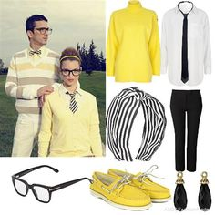 a clean geek look...another summer must.