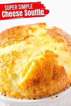 A super simple recipe for a classic Cheese Souffle - forget the intimidating reputation, this classic French recipe is incredibly easy and doesn't require any tricky steps. You don't even need to whisk the eggs! Savoury Pastry Recipe, Savoury Cake, Kitchen Recipes, Baking Recipes, Souffle Recipes Easy, Cheese Souffle, Great Recipes, Favorite Recipes, French Cheese