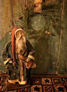 Arnett's Santa in Blue