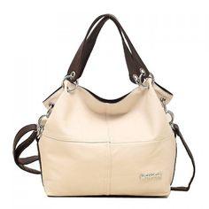 Fashion Stitching Design Women's Shoulder Bag