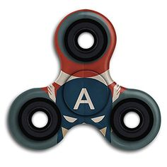 Cheap price Fidget Spinner Toy Hand Spinner Camouflage Captain America The Avengers For Adult And Kids -Perfect For ADDADHDand Anxiety on sale
