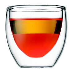 These are some of the world's best espresso glasses. I swear by them. Pavina by Bodum, 2.5 oz, set of 2