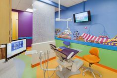 DENTAL HYGIENE BAY. Pediatric Dentist in Del Mar, California. Kid-Friendly Carnival Themed Office. #SunnySmilesKids
