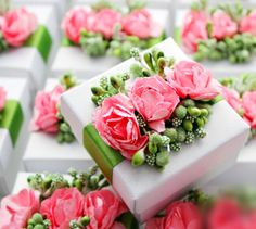 50 x Rustic Wedding Favors Box Packaging Ideas