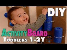 DIY Activity Board für Kleinkinder von 1-2 Jahren | mamiblock - Der Mami Blog - YouTube