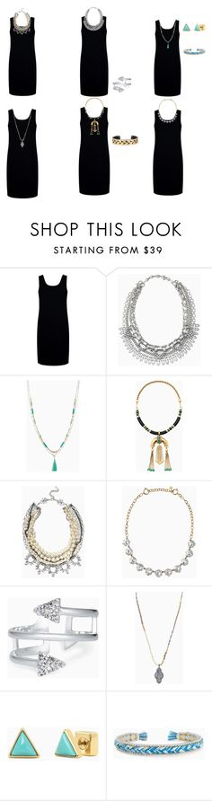 """""""black dress"""" by milliewatkins on Polyvore featuring Être Cécile and Stella & Dot"""