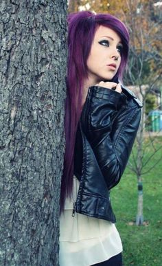 think a little darker than this spring and summers pastels for fall this dark purple is perfect