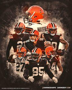Cleveland Browns Wallpaper, Nfl Cleveland Browns, Go Browns, Browns Fans, Myles Garrett, Joe Thomas, Baker Mayfield, Football Art, Football Pictures