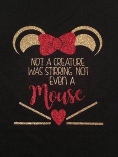 Minnie Mouse Christmas Womans Disney Family Disney Shirts