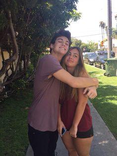 Ethan Dolan & his sister Cameron Dolan