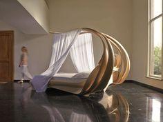 This bed costs £120k! #billionaire #lifestyle http://www.telegraph.co.uk/luxury/design/6391/the-enignum-canopy-bed-by-joseph-walsh-studio.html http://www.josephwalshstudio.com/