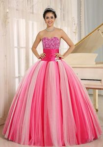 New Arrival Colorful Sweetheart Floor-length Quinceaneras Dresses in Tulle