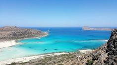 Balos Lagoon, Crete island