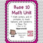 This unit contains centers and printables to teach the beginning of counting and adding with base 10 blocks.  This falls under the Common Core Stan...