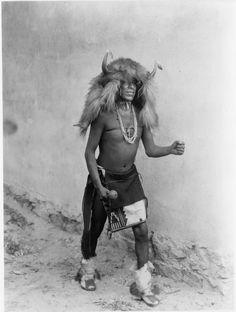 Sia, Buffalo Dancer, by Edward Sheriff Curtis