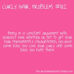 I've been asked why don't I permanently straighten. Truth is I still love my curlies. Crazy Curly Hair, Thick Curly Hair, Wavy Hair, Curly Hair Styles, Natural Hair Styles, Thick Hair Problems, Curly Girl Problems, Hair Facts, Hair Issues