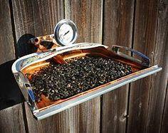 Repurposed / Upcycled Bird Feeder Dust Pan
