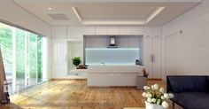 #kitchen #interiordesign #3dvisualization #archdaily #archilovers #cgi #archdesign