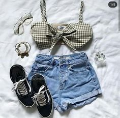 2ff6cc9ba Follow me 😃 Bela Moda, Look Despojado, Inspiração De Looks, Looks  Femininos,