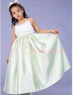 Cheap Spaghetti Straps Junior Flower Girl Dress
