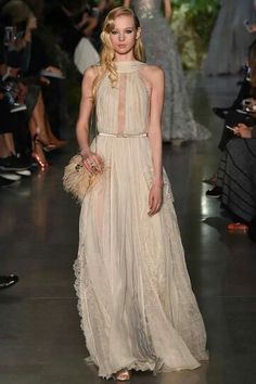 Elie Saab in 'Birut, Chasing A Dream' for Spring 2015 Couture