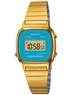 37f2fe9f956 Casio Women s Core LA670WGA-2 Gold Stainless-Steel Quartz Sport Watch.  Ladies Watches OnlineDigital ...