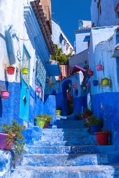 Blue Maze - Chefchaouen I Sineyes