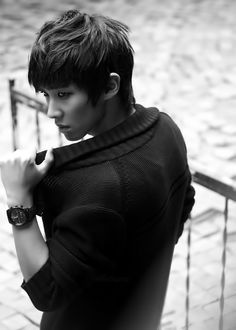 Lee Joon (Lee Chang Sun) in sexy black Lee Joon, Dong Lee, Korean Star, Korean Men, Asian Actors, Korean Actors, K Pop, Dramas, Boys Republic
