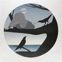 Will Barnet  -  Circle   1979