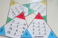 Fact Family - 4 Worksheets | Printable Worksheets | Pinterest | Fact ...