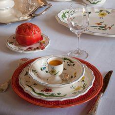 Gien - 'Oiseaux de Paradis' Dinnerware Collection | Artedona.com