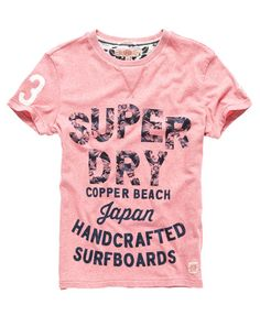 Superdry Abbot Print T-Shirt