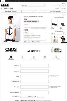 Risultati immagini per asos checkout Shopping Carts, Ecommerce Web Design, Student Discounts, First Step, Asos, Marketing, Check