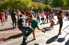 lindy hop - aka the coolest thing ever by Cåsbr, via Flickr