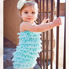 1edf5f3824f Petti Lace Romper. Tailor Creations · Baby Girl Rompers
