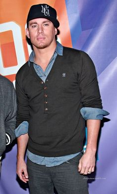 "Channing Tatum @Ashley Walters manning check out this board- Channing Tatum ""Chan"" {& Others That Make You MELT!}"