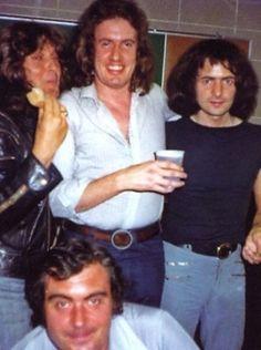 Ritchie Blackmore, Bob Daisley & Colin Hart
