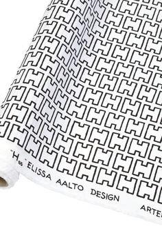 H55 fabric pattern designed in 1955 by Elissa Aalto.
