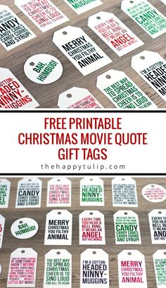 The Best Free Christmas Printables - Gift Tags, Holiday Greeting Cards, Gift Card Holders and More F Christmas Friends, Christmas Movies, Christmas Humor, Winter Christmas, Christmas Crafts, Xmas, Christmas Gift Quotes, Christmas Greetings, Christmas Gifts For Art Lovers