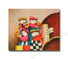 Concert | Buy Wall Art Decors & Oil Canvas Paintings for Kids' Room - Direct Art Australia,  Price: $149.00,  Availability: Delivery 10 - 14 days,  Shipping: Free Shipping,   Minimum Size: 50 x 60cm,  Maximum Size: 90 x 120cm,  100% Money back guarantee. Australian owned and operated. Local Contact.  http://www.directartaustralia.com.au/