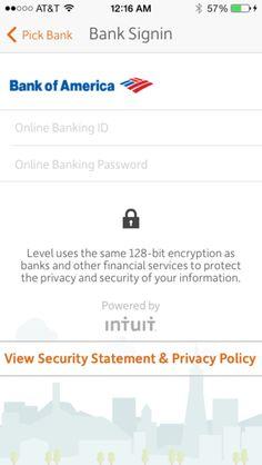 Bank info edit